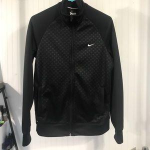 Women's Nike zip up dri fit jacket